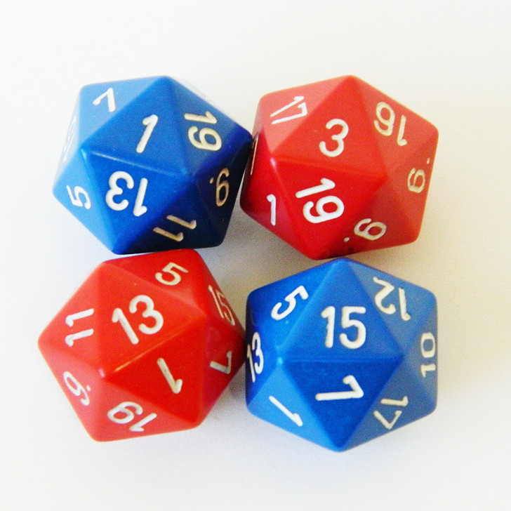 Wargaming D20 Dice