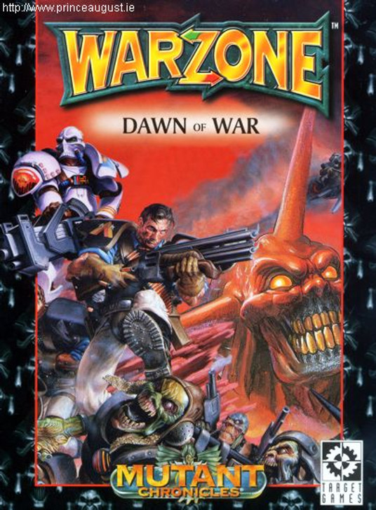 Warzone Mutant Chronicles Dawn of War Rule book
