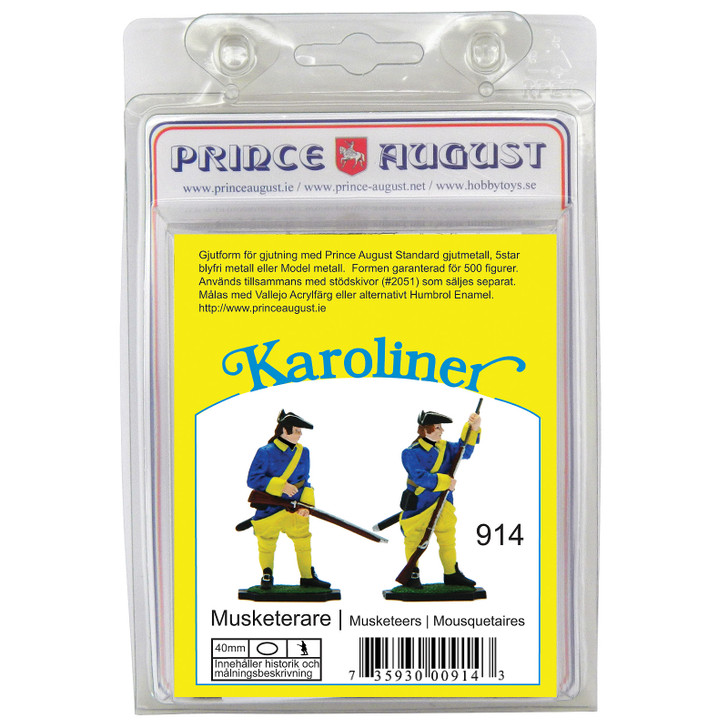 PAS914 Karoliner Musketeers label