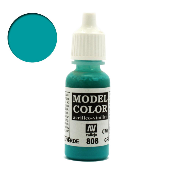 Blue Green Vallejo Model Color Acrylic Paint 70808