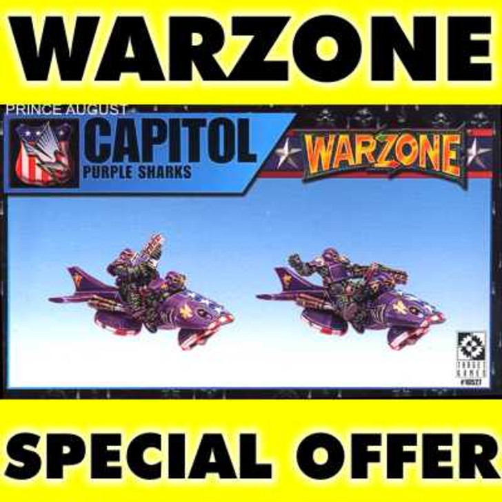 Warzone Purple Sharks with Pilots.