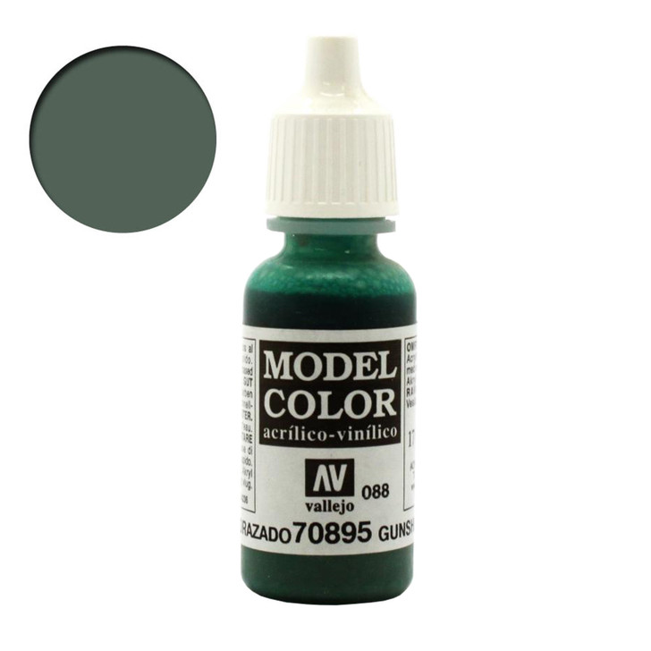 Vallejo Model Color Gunship Green Acrylic Paint 70895