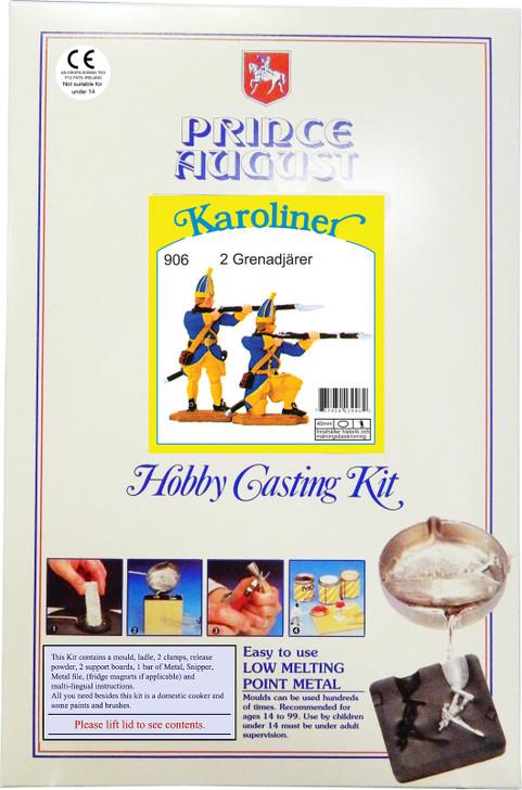 Value Starter Kit. Shows Karoliner lable. This changes depending on what mould option you choose.