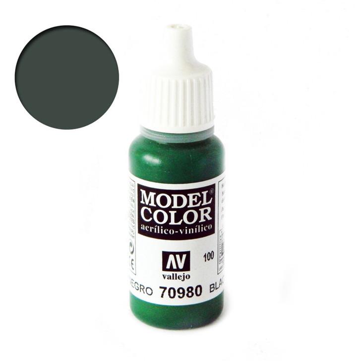 Vallejo Model Color Black Green 70980