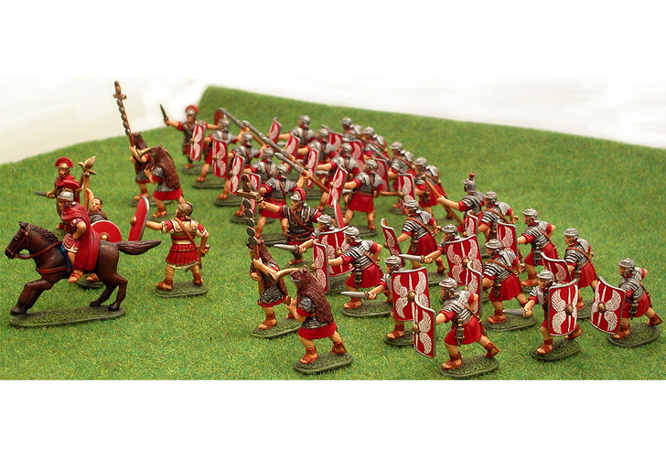 Roman Wars miniatures and cast figures.