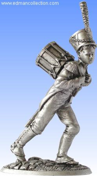 The Drummer Boy - Antique Finish Pewter Miniature