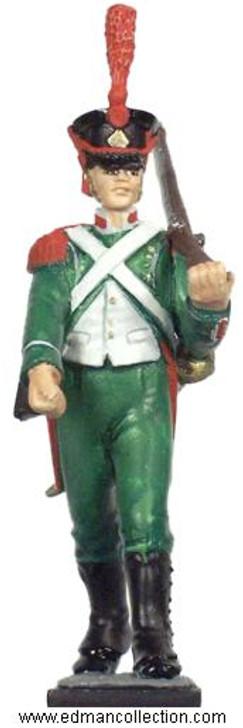 Legion Irlandaise Foot Soldier pewter figure