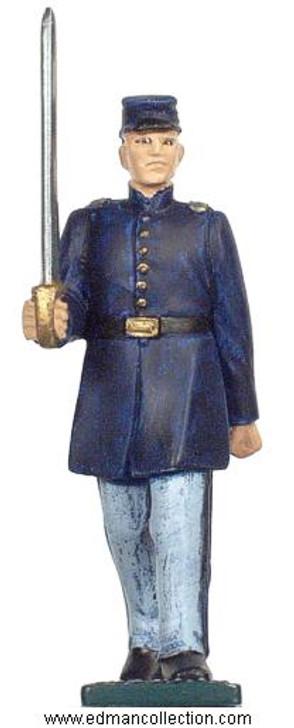 Irish Brigade Union Army Officer pewter figure