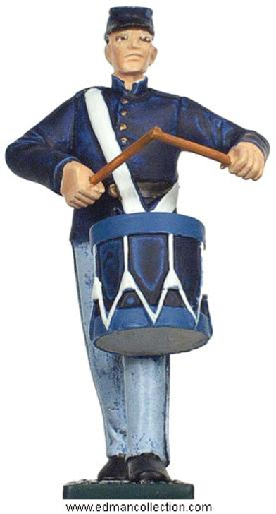 Irish Brigade Union Army Drummer pewter figure