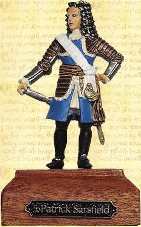 Patrick Sarsfield Painted Pewter Miniature