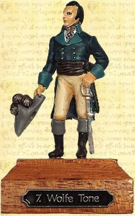 Wolfe Tone Painted Pewter Miniature