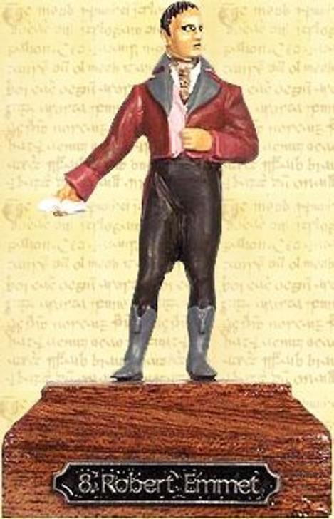 Robert Emmet Painted Pewter Miniature
