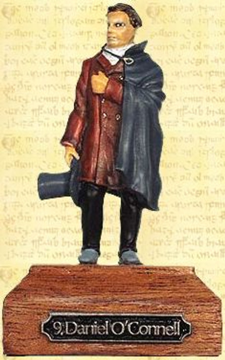 Daniel O'Connell Painted Pewter Miniature