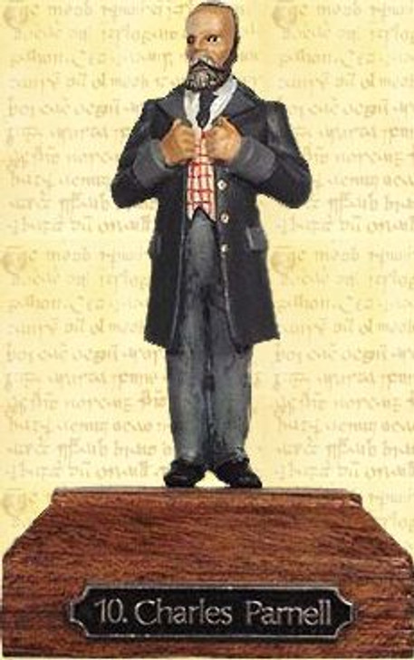 Charles Stewart Parnell Painted Pewter Miniature