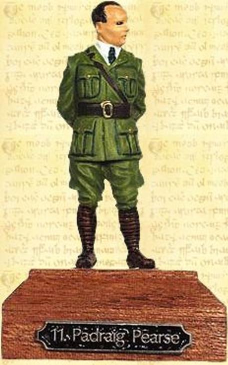 54mm Padraig Pearse Painted Pewter Miniature