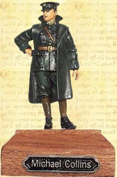 Michael Collins Painted Pewter Miniature