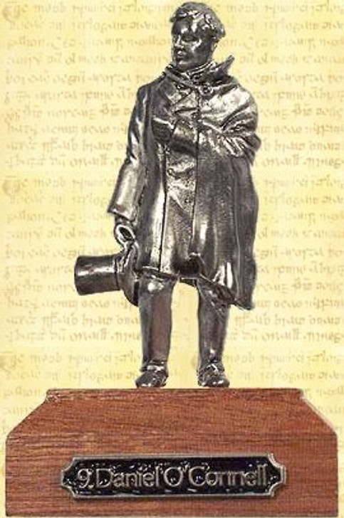 Daniel O'Connell Pewter Miniature