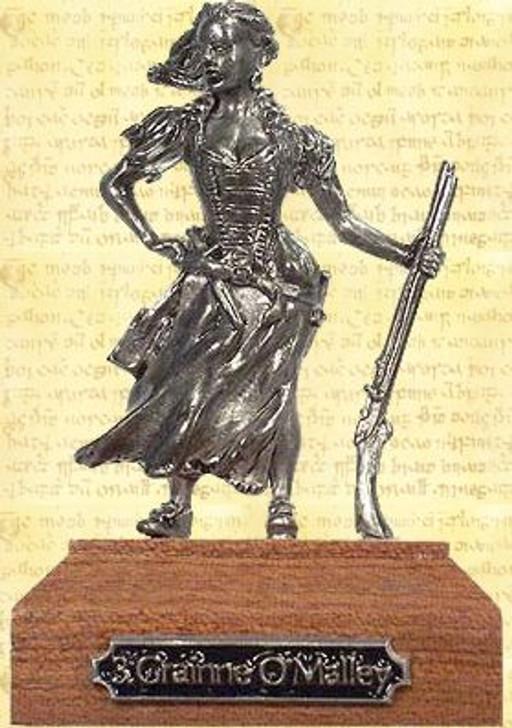 Grainne O'Malley Pewter Miniature