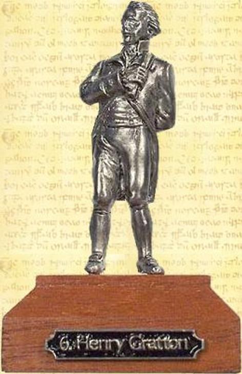 Henry Gratton Pewter Miniature
