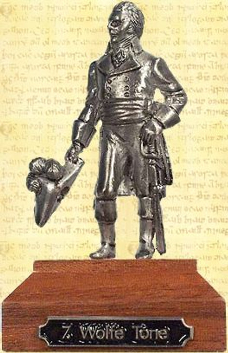 Wolfe Tone Pewter Miniature
