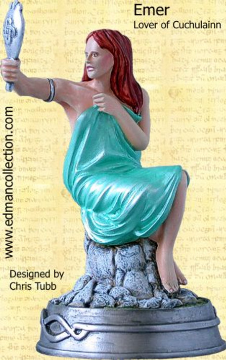 Emer - Lover of Cuchulainn - Legendary Celts