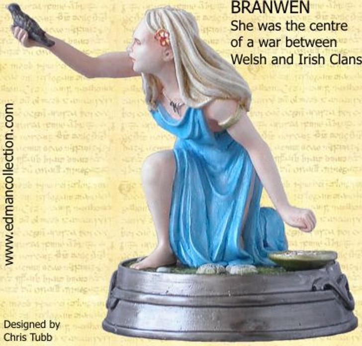 Branwen - Imprisoned Welsh princess