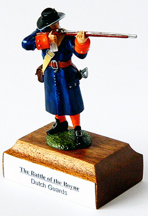 The Battle of the Boyne Dutch Guards figure