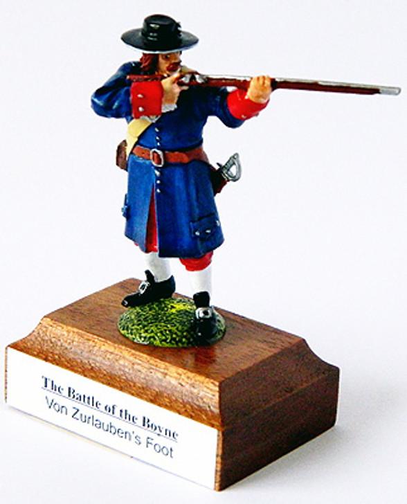 The Battle of the Boyne Von Zurlauben's Foot figure