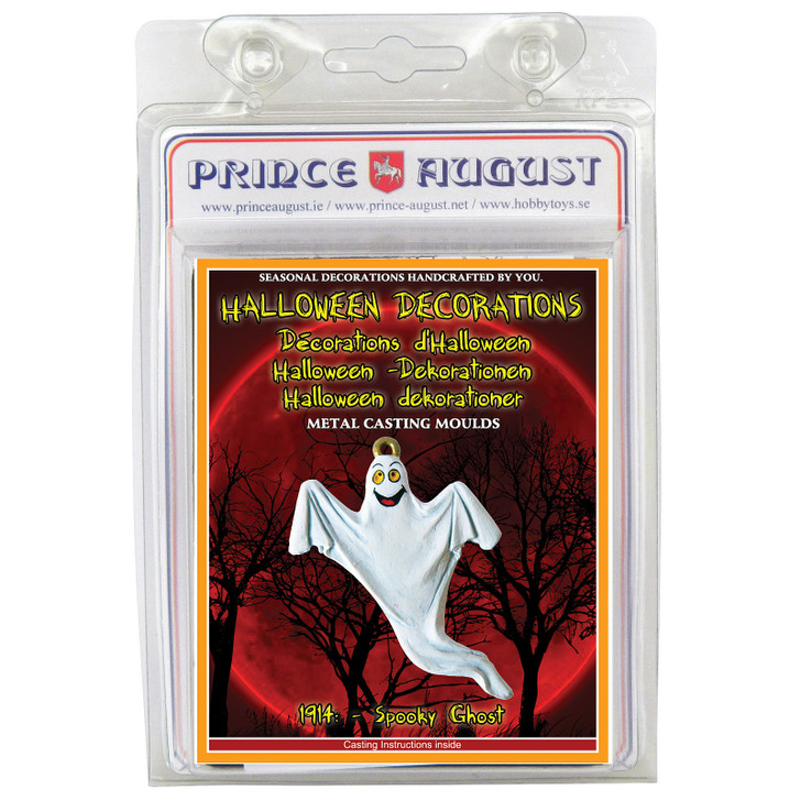 PA1914 Halloween Spooky Ghost label