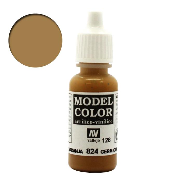 Vallejo Model Color Germ. Cam. Orange Ochre 70824