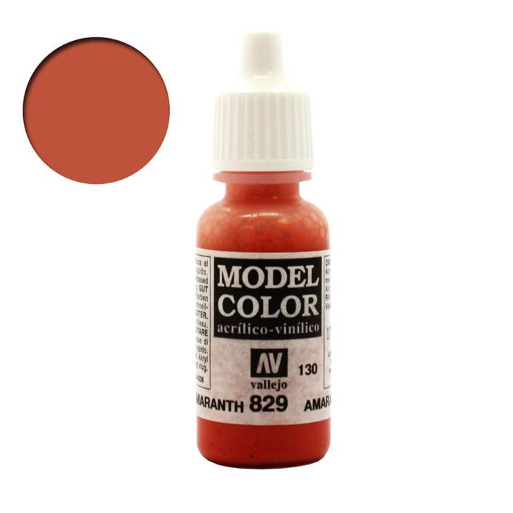 Vallejo Model Color Amarantha Red 70829