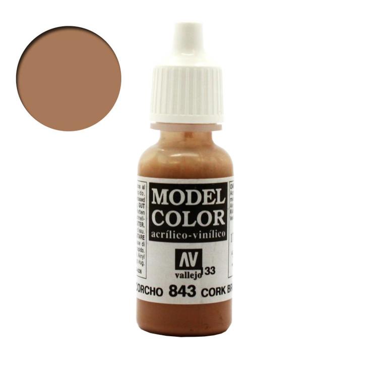 Vallejo Model Colour Cork Brown 70843