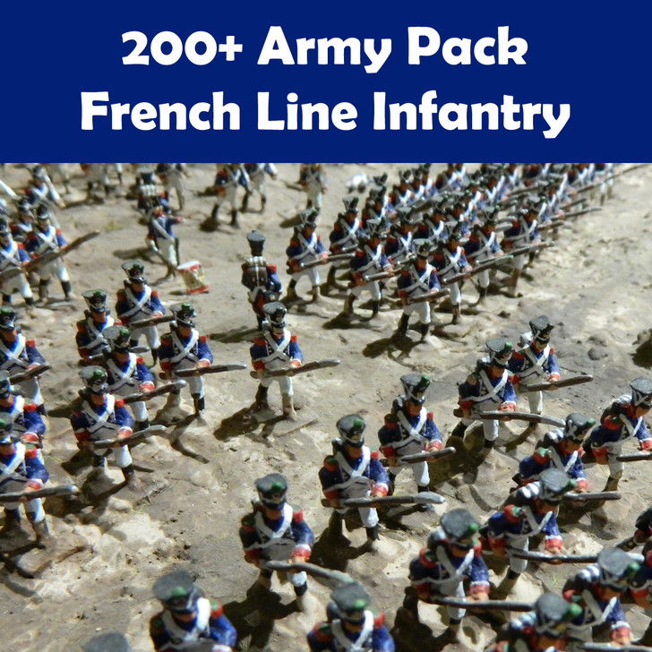 200+ Army Pack French Line Infantry Grenadiers