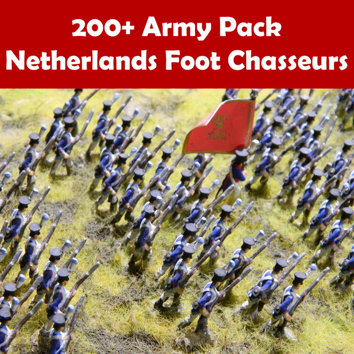 200+ Army Pack Netherlands foot chasseurs