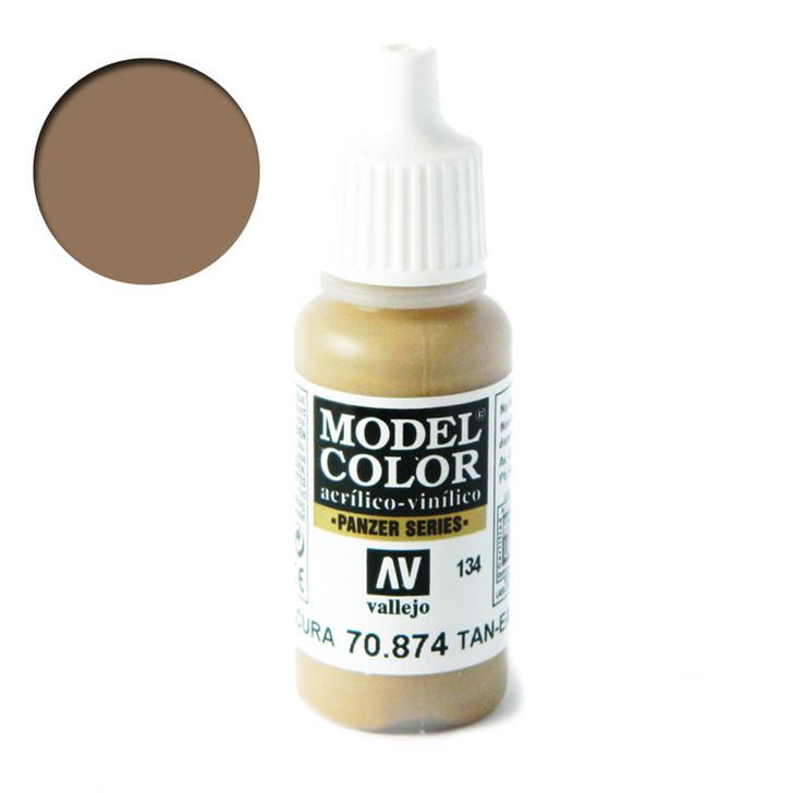 Vallejo Model Color USA Tan-Earth 70874