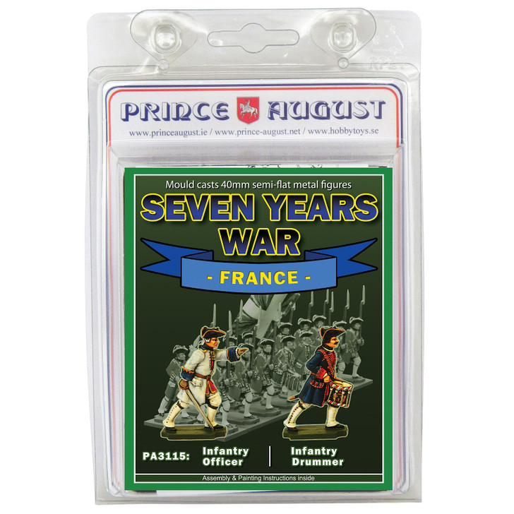 PA3115 Seven Years War France: Blisters