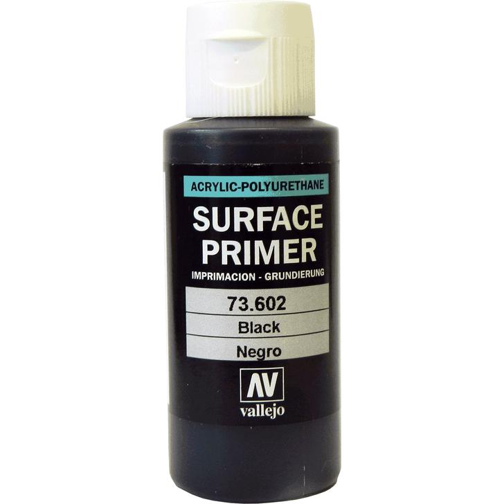 Black Surface Primer Acrylic Paint AV602 60ml