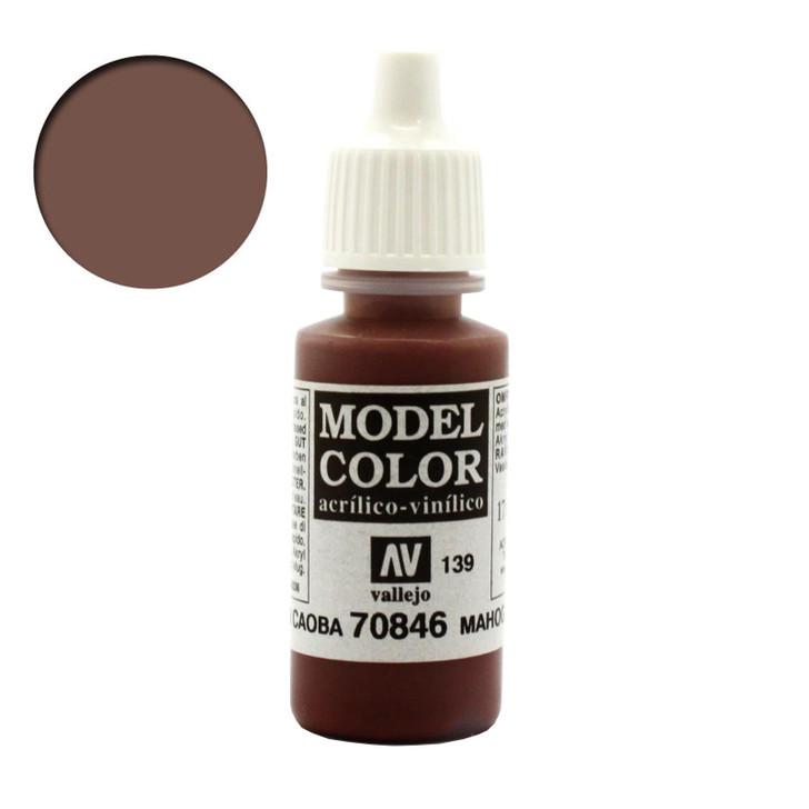 Vallejo Model Color Mahogany Brown 70846