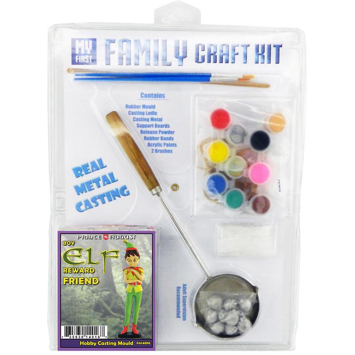 Elf Reward Boy Family Craft Kit