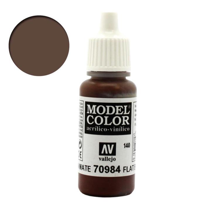Vallejo Model Color Flat Brown 70984