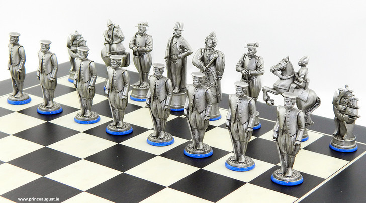 English side of the Spanish Armada 1588 chess moulds