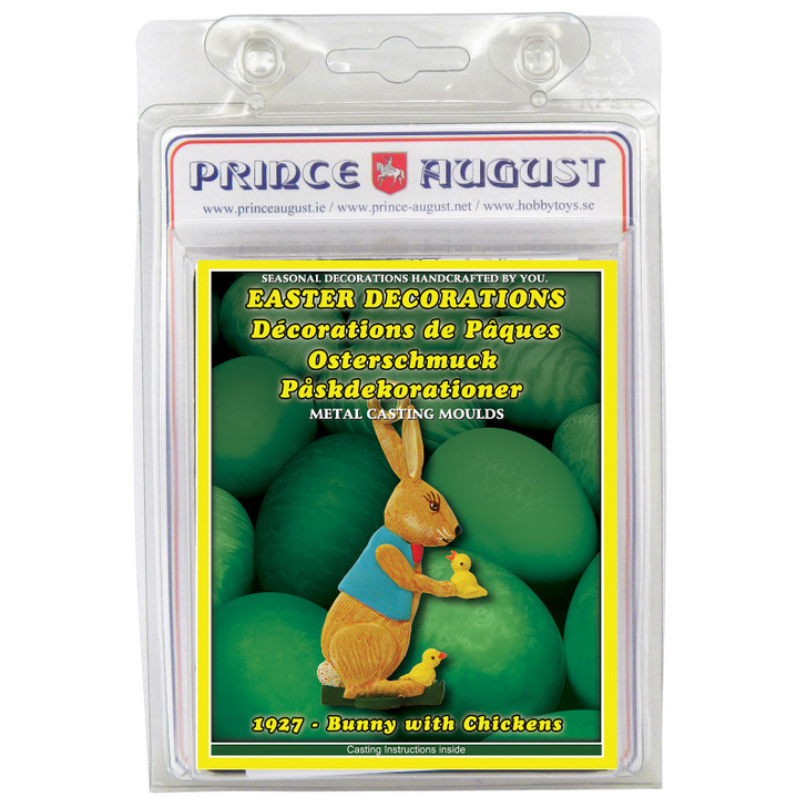PA1927 - Easter Decorations Bunny with Chickens blister