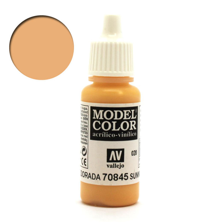 Sunny Skintone Vallejo Model Color Acrylic Paint 70845