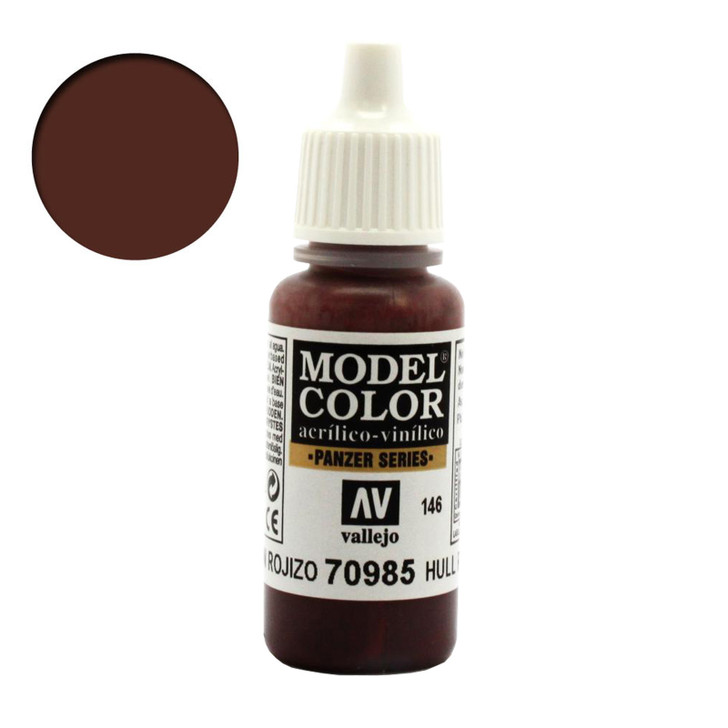 Vallejo Model Color Hull Red Acrylic Paint 70985