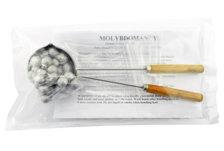 Molybdomancy Party Divination Kit.