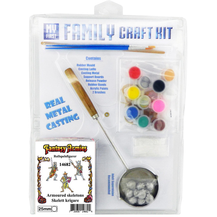 Fantasy Armies Family Craft Kit - Skeletons PA682 by default