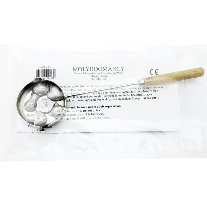 Molybdomancy Divination Charm Kit