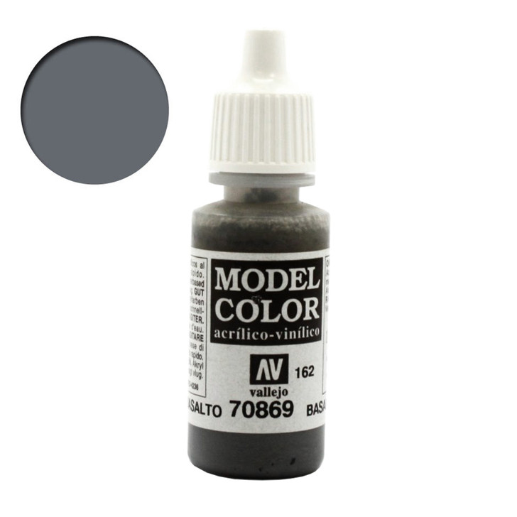 Vallejo Model Color Basalt Grey Acrylic Paint