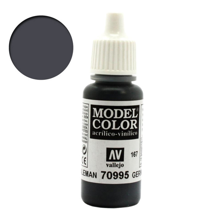 German Grey Vallejo Model Color Acrylic Paint 70995