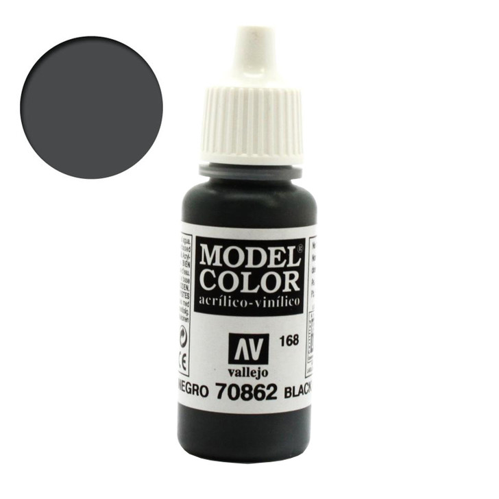 Vallejo Model Color Black Grey Acrylic 70962